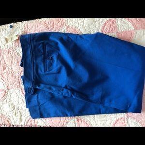 NWT Talbots beautiful blue side zip pants